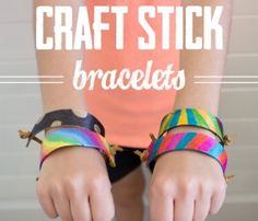 Make your own bracelets.  Super cute!