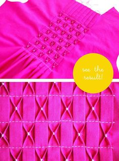 Add depth and interest with this 3D Pleating tutorial featured on Project Run and Play. - Sewtorial