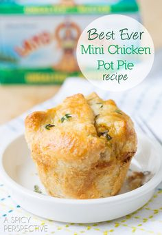 New easy chicken pot pie recipe individual pot pie recipe for Bella personal pie maker recipes