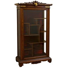 Presentation Vitrine by Gabriel Viardot | From a unique collection of antique and modern vitrines at https://www.1stdibs.com/furniture/storage-case-pieces/vitrines/