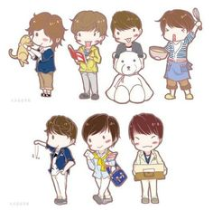cuties ~~ (❁´▽`❁) follow ig @ifntxhan #sunggyu #dongwoo #woohyun #hoya #sungyeol #myungsoo #sungjong #infinite