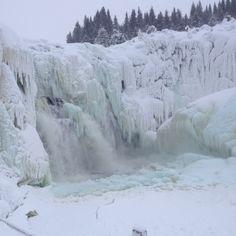 Tännforsen. Jämtland, sweden Places To Travel, Places To Visit, Lappland, Wilderness, Coastal, Island, City, World, Europe