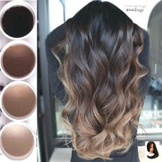 38 fashionable balayage hair color ideas for brunette beauty tip .- 38 fashionable balayage hair color ideas for brunette beauty tips - Black Hair Ombre, Hair Color For Black Hair, Brown Hair Colors, Pink Hair, Ombre Hair Dark Skin, Hair Color Tips, Hair Color For Asian, Long Hair Colors, Trendy Hair Colors