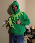 Kermit the Frog Homemade Costume