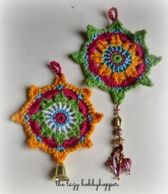 SHARING IS CARING!1140030Yes, this would be awesome for holidays or just for every day! The design is stunning, and it would look great on a Christmas tree or even a wall or on a fireplace, or even, as a coaster or a very dramatic necklace! The designer of this wonderful pattern is Pradeepa of The …