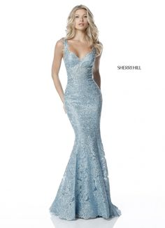Prom and Homecoming Dresses Sherri Hill 51571 Sherri Hill One Enchanted Evening - Designer Bridal, Pageant, Prom, Evening & Homecoming Gowns Grad Dresses Long, Sherri Hill Prom Dresses, Prom Dresses 2018, Ball Dresses, Ball Gowns, Evening Dresses, Formal Dresses, Quinceanera Dresses, Lace Prom Gown