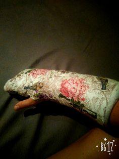 Decupaqe-ruka v sádře ;-)