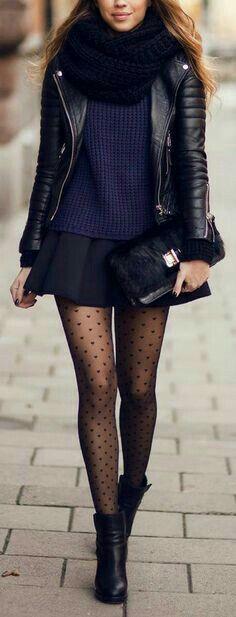 Este #invierno prueba alguna de estas #ideas de #Outfit con #falda. Te verás increíble. #OutfitIdeas #Outfit #style #StreetStyle #OutfitDeInvierno