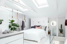 white bright bedroom