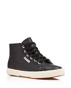 Superga Nappaw Lace Up High Top Sneakers