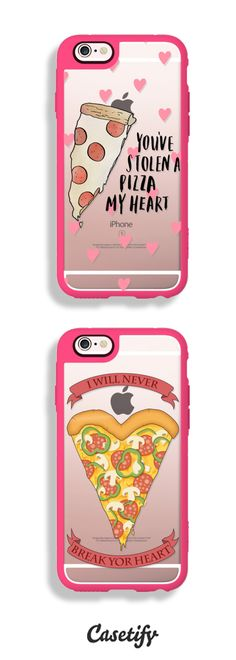 When Pizza is literally bae. Shop these phone cases here: https://www.casetify.com/artworks/3ppj6Z0SnV