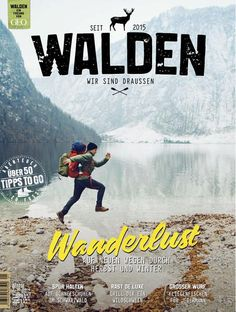 WALDEN Magazin #4 WANDERLUST 2/2016