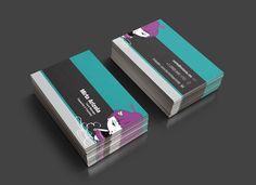 Personal business cards #design #illustration www.mariux.com.ar