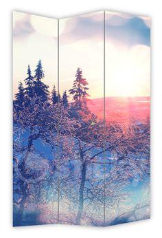 Folding Screen WINTER MOUNTAINS by Sticky!!!