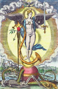 "Image from David Joris's ""Wonder Boeck"" (Wonder Book), 1542. Described by Encyclopedia Britannica as ""…a ponderous volume of fantasy and allegory."""