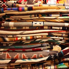 Navajo blankets and rugs from the Toh-Atin Gallery #DurangoCO  #IdOrderThat