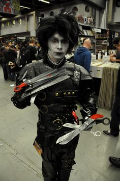 Edward Scissorhands - - Montreal Comic Con 2013 - Picture by Geeks are Sexy