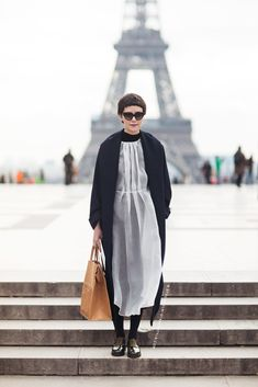 Spring 2014 Couture Paris Street Style. Of course…flawless style