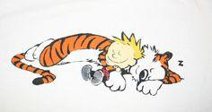 ...sleeping with my cat!