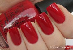 Big Apple Red - OPI New York City collection Fall 2000