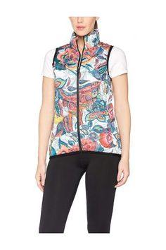 Desigual Outlet - Desigual / Different. Vest, Athletic, Jackets, Fashion, Down Jackets, Moda, Athlete, Fashion Styles, Deporte