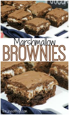 Are you searching for the perfect brownie recipe? Your search is over! These Marshmallow Brownies are gooey and delicious but also ADDICTING! You've been warned!