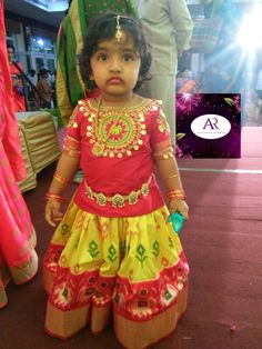 Exclusive ikkat kids lehengas available in stock ready to ship Whatsapp Measurements: Suitable for age group body blosue height Long Frocks For Girls, Dresses Kids Girl, Kids Outfits, Baby Lehenga, Kids Lehenga Choli, Baby Birthday Dress, Baby Boy Dress, Kids Dress Wear, Kids Gown
