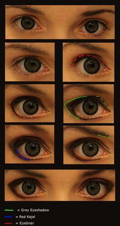 Male Cosplay-Make up [Akira-TnC] by ~JackyChip on deviantART