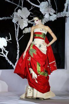 Christian Dior haute couture dress
