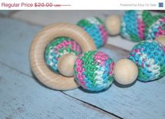 ON SUPER SALE Nursing/Teething Necklace and by BellaHenryBoutique, $16.00