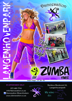 Our first Zumba Flyer/Poster