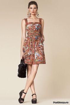 Dolce & Gabbana Весна-Лето 2013 (Lookbook) Часть II / последнее изгнание дьявола второе пришествие смотреть онлайн 2013