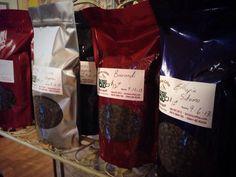 Bergies Coffee Roast House specializes in custom roasting and blending of coffee beans. Bruce and Brian Bergeson of Bergies take pride in their coffee. Coffee Roasting, Coffee Beans, Whiskey Bottle, Pride, Food, Dark, Meal, Essen, Hoods