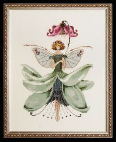 click here to view larger image of Magnolia Spring Garden  - Pixie Couture (chart)