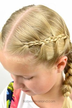 Chevron Braids from BabesInHairland.com #braids #chevron #hair #hairstyle #littlegirlhair