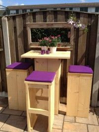 Maak zelf je meubels van steigerhout. Met deze bouwtekening die je alles stap voor stap uitlegt.