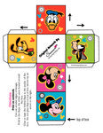 Mickey Mouse Box Favor Box