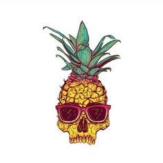 beach, tumblr, death, drawing, fashion, fun, pineapple, girl, 2013, like, love, smile, skull, funny, summer, live