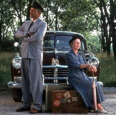 Jessica Tandy, Morgran Freeman Driving Miss Daisy