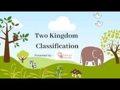 Two kingdom Classification System EM Branches Of Biology, Ems, Presents, Gifts, Favors, Gift