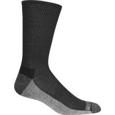 Fruit of the Loom Mens Crew Socks 6 Pack, Men's, Size: 6-12, Black