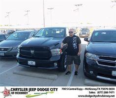 #HappyBirthday to Kristofer J Sanders from George Rutledge  at Dodge City of McKinney!