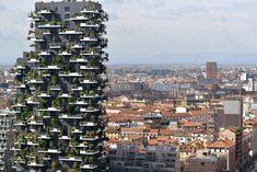 "Milanese High-Forest  l Winner International Highrise Award 2014:  ""Bosco Verticale"" ,architect Stefano Boeri, constructor Manfredi Catella from Hines Italia. Photo © Kirsten Bucher l STYLEPARK"
