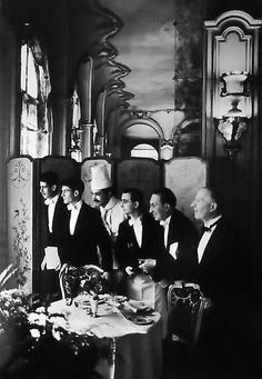 Waiters and Chef, Hotel Ritz, Paris, France | From a unique collection of photography at http://www.1stdibs.com/art/photography/