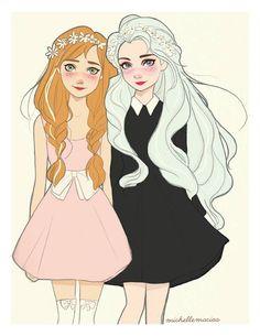 Anna & Elsa - Michelle Macias