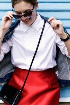 #dresscolorfully dress it down