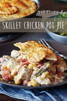 ... Skillet chicken parmesan, White chili with chicken and Comfort foods
