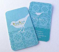 Blue Business Cards Carte De Visite Design Image Marque