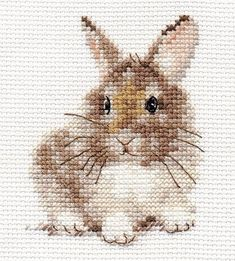 Modern Counted Cute Cross Stitch Embroidery Kit Easter Bunny, Animal Friends, Easter Embroidery, Ins Cross Stitch Fabric, Cute Cross Stitch, Cross Stitch Animals, Counted Cross Stitch Patterns, Cross Stitch Charts, Cross Stitch Designs, Cross Stitch Embroidery, Embroidery Patterns, Hand Embroidery