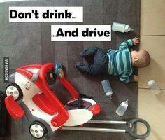 Don't drink n' drive plz